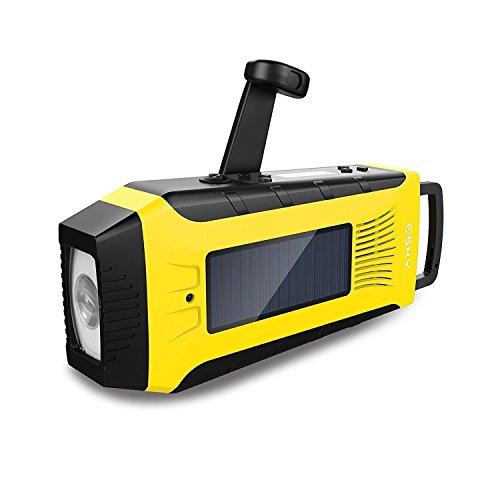 Fornorm 4-led Licht Solar Handkurbel Radio Mit Taschenlampe Power Bank Notfall Sos Alarm Am Fm Wb Wiederaufladbare Radio Für Noaa 100% Garantie Unterhaltungselektronik Tragbares Audio & Video