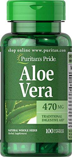 Aloe Vera 100 Kapseln (Aloe vera 470 mg 100 Kapseln)