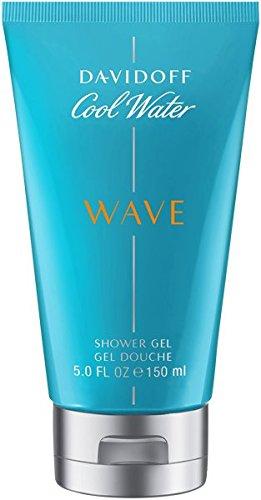 Davidoff Cool Water Wave - Gel doccia da uomo, 150 g
