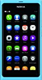 Nokia N9 Smartphone (9,9 cm (3,9 Zoll) Display, 16GB, Touchscreen, 8 Megapixel Kamera) [EU-Import] blau