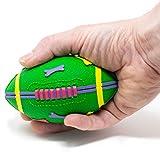 Lanco – Rugby-Ball aus Naturgummi, ideal für kleine und mittelgroße Hunde
