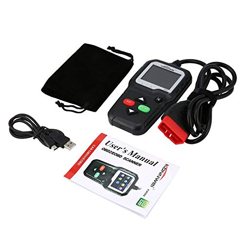 Preisvergleich Produktbild Mountxin KW680 Universal OBD2 Automotive Scanner Diagnostic Car Scan Tool OBDII Scanner - Black
