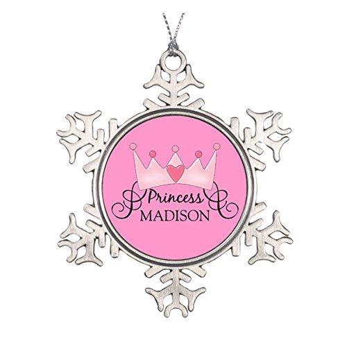 Daily Lady Personalisierte Prinzessin Weihnachtsdekoration