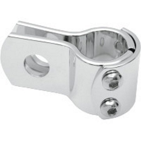 Enganche universal cromo–Clamps moto Harley 28mm