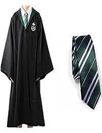 Harry Potter Slytherin&Tie Adult Robe Size L Dress Costume