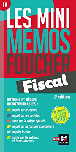 Les mini memos Foucher - Fiscal - 2ème édition - Révision par Jean-Yves Jomard