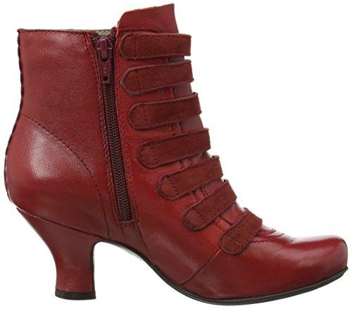 Hush Puppies Tiffin Verona, Damen Kurzschaft Stiefel, Red (Red Leather)