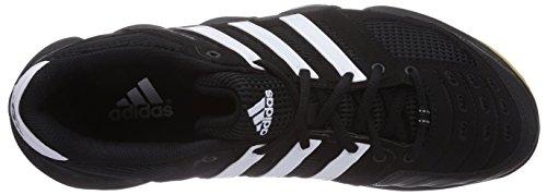 adidas Performance Team Spezial Herren Hallenschuhe Schwarz (Black 1/Running White Ftw/Metallic Silver)