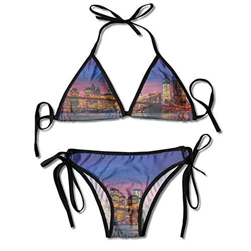 ini,Reflections on Manhattan East Sexy Bikini 2 Pieces ()