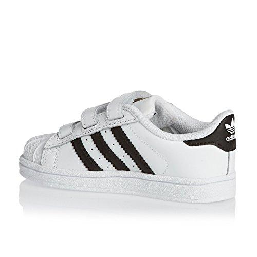 Adidas B23637 Basketball-Schuhe, Unisex, für Kinder weiß - mehrfarbig