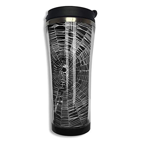 Spider Web Sports Coffee Mug Tumbler Drink Bottle with Liquid Tight 14 OZ