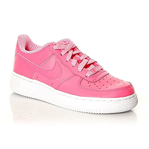 Nike Air Force 1 '06 (gs), Chaussons Sneaker Fille Blanc/Rose