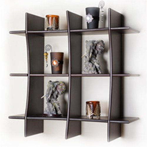 Lifeestyle Decorative Floating Wall Shelf , Book Rack