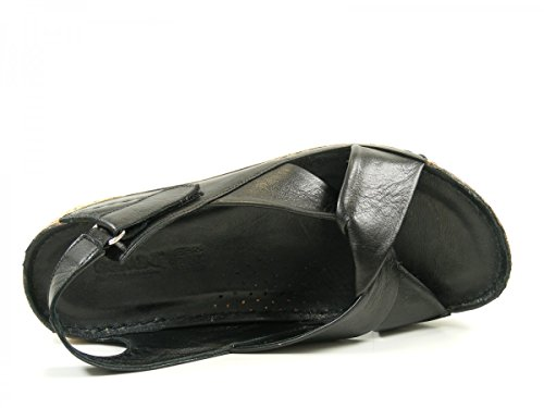 Nero 02 32024 Femme Mode Sandales Gemini wRaqT1v