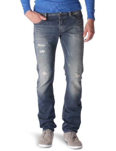 Freesoul Bounty Keen - Jean - Droit/Regular - Used - Homme Bleu