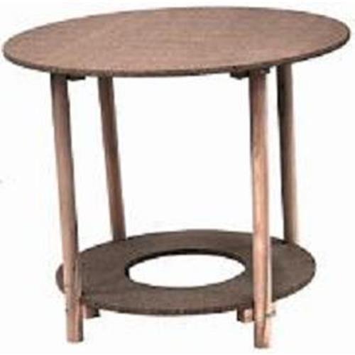 Monchy - mesa camilla redonda madera 100 cm