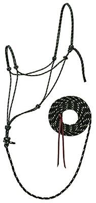 """Silberspitz slivertip Reflektierende Seil Halfter mit 12""""Blei, schwarz"""