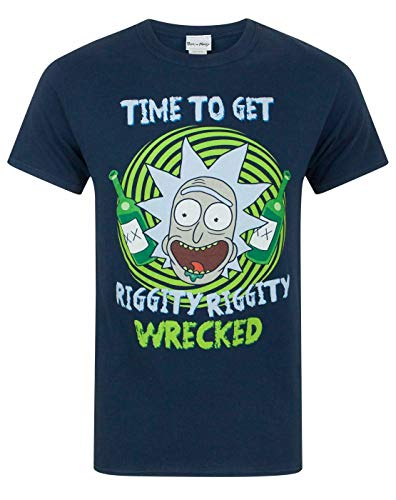 Rick And Morty Riggity Riggity Wrecked Men