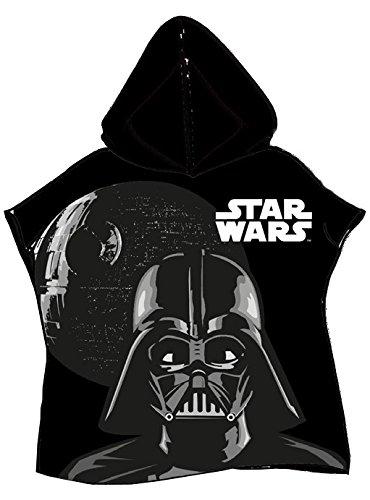 Star Wars d90588as-Suave Poncho para niños