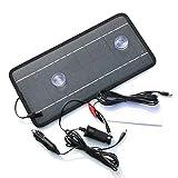 SJZC Solarenergie Auto Ladegerät Autoladegerät Ladegerät für Mobiltelefon 12 V Ladegerät