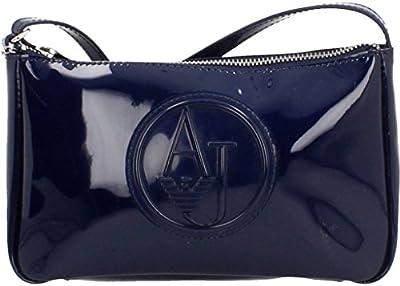 Shoppers y bolsos de hombro para mujer, color Azul , marca ARMANI JEANS, modelo Shoppers Y Bolsos De Hombro Para Mujer ARMANI JEANS MARTINE TOP HANDLE FLA Azul
