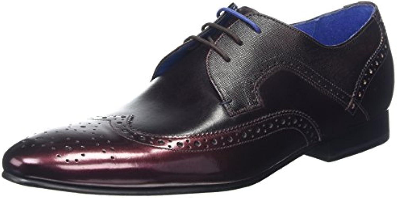 Ted Baker 916781-Zapatos de Cordones Brogue, Hombre -