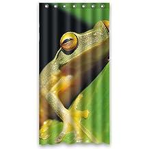 """'doubee Custom Personalizado con rana Frog resistente al agua poliéster cortina de ducha cortina de ducha 36x 72"""", poliéster, E, 36"""" x 72"""""""
