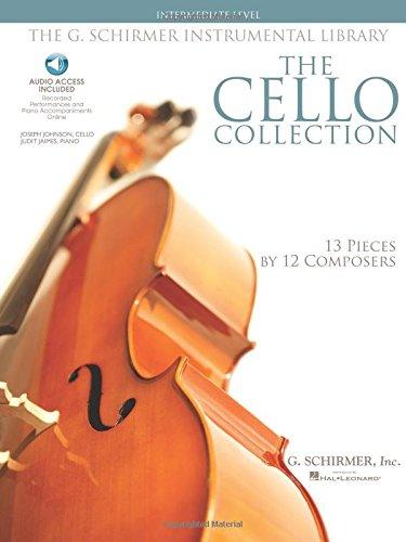 The Cello Collection Intermediate Vlc Book/2Cd