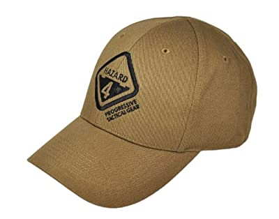 Hazard 4 Kappe Embroidered Logo Cap, Coyote, One size, HDG-H4CAP-CYT