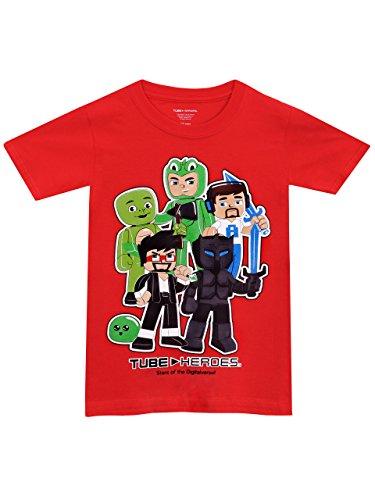 Tube Heroes - Camiseta para niño - Tube Heroes - 12 - 14 Años
