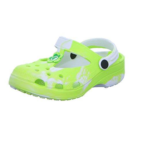 Sneakers KL1053 Mädchen Badeschuhe Grün (Grün)