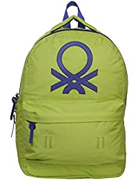 United Colors of Benetton 15 Ltrs Green Casual Backpack(17A6BKPK0L19I)-ST
