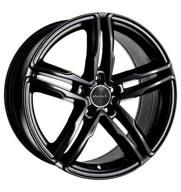 Preisvergleich Produktbild Wheelworld WH11 7,5x17 ET35 5x112 schwarz glanz lackiert