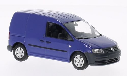 Preisvergleich Produktbild VW Caddy, blau, 2004, Modellauto, Fertigmodell, I-Minichamps 1:43