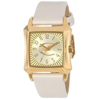 Just Cavalli Blade Lady Just Time R7251106517 – Reloj de Mujer de Cuarzo, Correa de Piel Color Beige