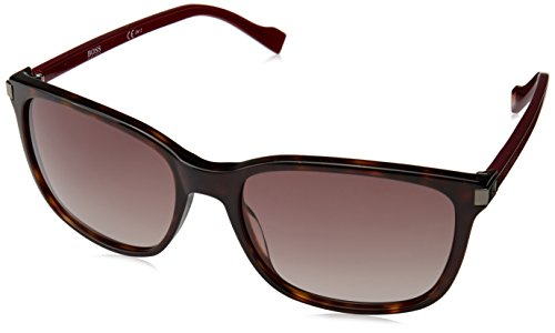 BOSS Orange Herren 0179/S Ha Sonnenbrille, Rot (Dkhvna Brgnd/Brown Sf), 55