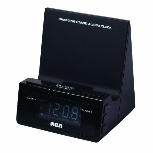 RCA Charging Stand Wecker mit integriertem USB-Ladekabel Audiovox Portable Radio