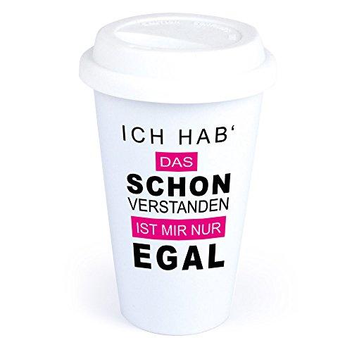 Coffee-to-Go-Becher mit Spruch