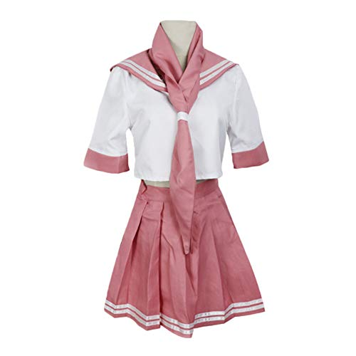 Wrrry Fate Grand Order FGO Servant Rider Astolfo Sailor Kleid Cosplay Kostüm Manga Schuluniform Damen rosa