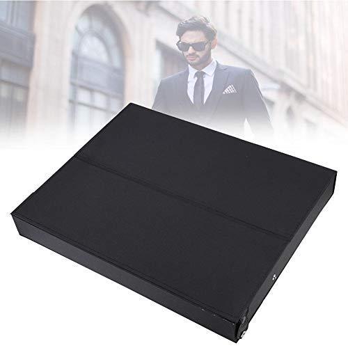yuyte Aufbewahrungsbox mit 18 Gürteln, Sonnenbrillen-Organizer-Etui für Display und Sammlung