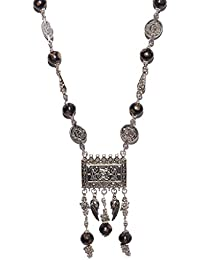 Aamoddhini Party Wear Western Fancy Designer Necklace Set For Women And Girls LN-31