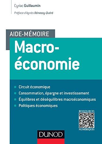 Aide-mmoire - Macroconomie