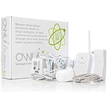 Owl Intuition-lc Energy Monitor Web Cloud Based 3 Phase Home Office Network Smart Meter
