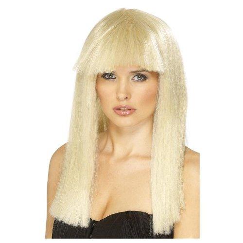 menperücke Perücke Damen blond Fasching Langhaar Haar Pageboy (Blonde Pageboy Wig)