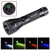 Outdoorlight Flashlight Aluminum Flashlightlong Shot 500 Meters Tele Safety &Amp; Survival Z0720