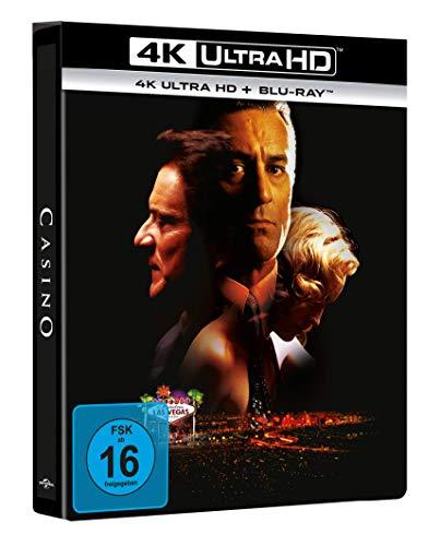 Casino - 4K UHD Limitiertes Steelbook [2 DVDs]