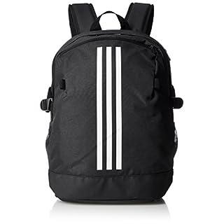 adidas 3-Stripes Power Rucksack, Black/White, 16 x 32 x 44 cm