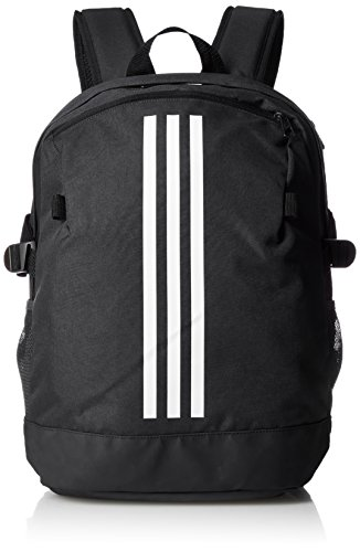 adidas BP Power IV M, Zaino Unisex-Adulto, Nero (Negro/Blanco/Blanco), 45 Centimeters