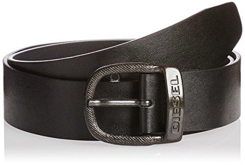 Diesel uomo nero bawre faux leather cintura-size 95 cm