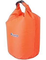 A Prueba de Polvo Agua Bolsa de Capacidad de 40L Deportiva Impermeable de Color Naranja